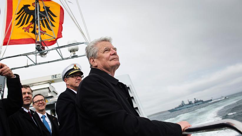 Bundespräsident: Gauck on the road