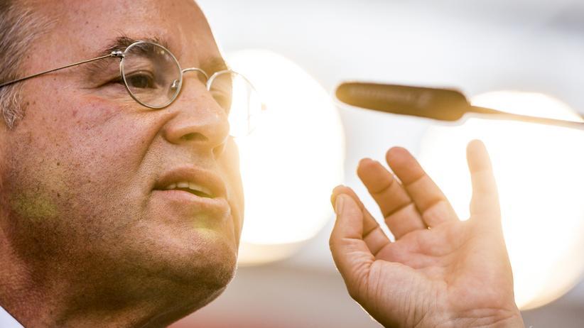 Meineids-Ermittlungen: Der Bundestagsabgeordnete der Linken, Gregor Gysi