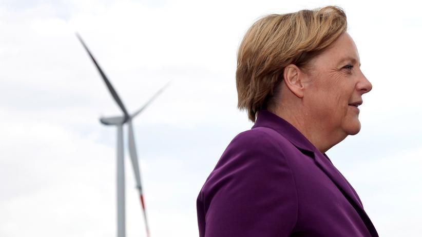 Ökostromreform: Merkel gibt ihre klimapolitischen Ambitionen auf