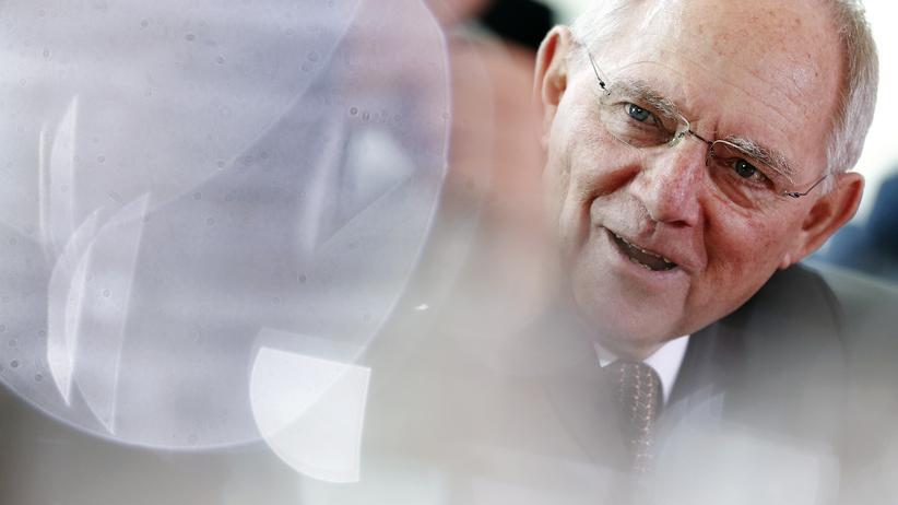 Wolfgang Schäuble: Bundesfinanzminister Wolfgang Schäuble (CDU)