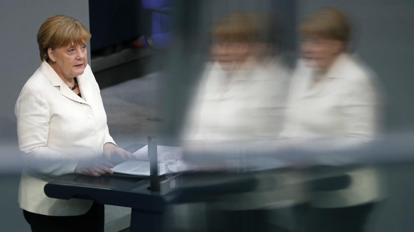 """Angela Merkel: """"Abschreckung und Dialog sind keine Gegensätze"""""""