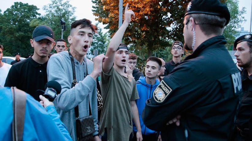 deutschland, polizei, kontrollen
