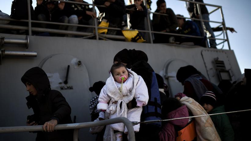 fluechtlingspolitik, cdu, eu, grenzkontrollen, fluechtlinge, sozialsystem