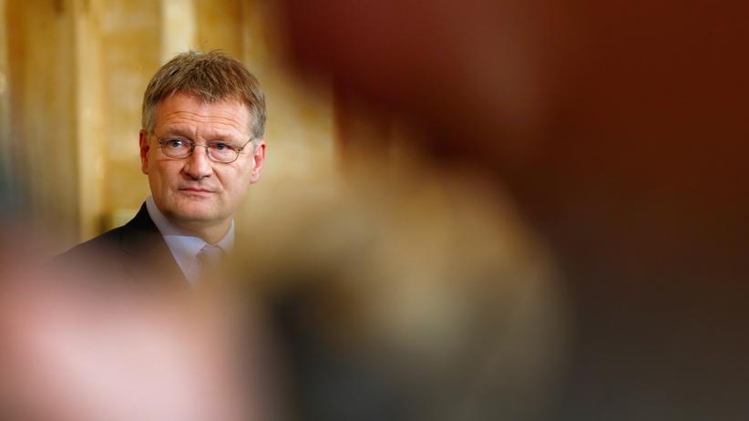 Alternative für Deutschland : Der Vorsitzende der bisherigen AfD-Fraktion im Landtag von Baden-Württemberg, Jörg Meuthen