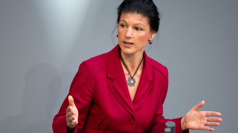 Sahra Wagenknecht: Sahra Wagenknecht, die Fraktionschefin der Linkspartei