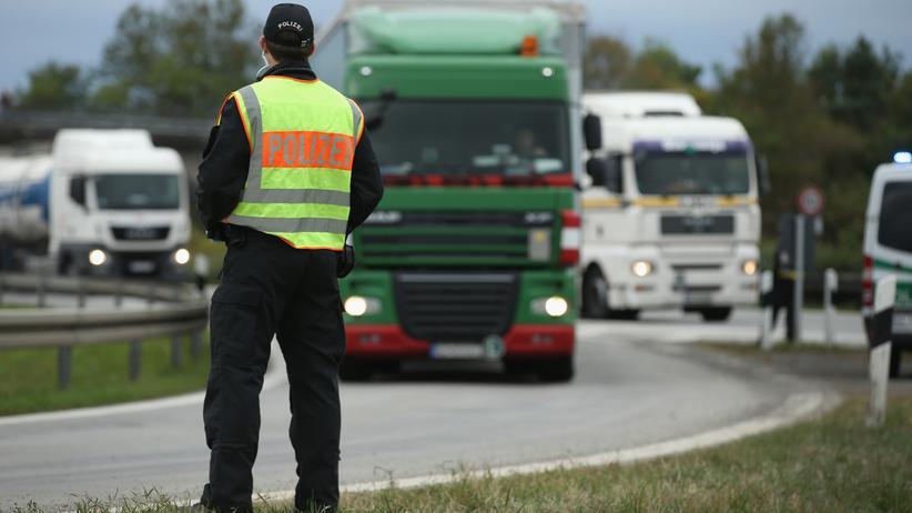 fluechtlinge, deutschland, bundespolizei