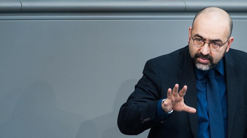 Omid Nouripour: Der Grünen-Politiker Omid Nouripour im Bundestag