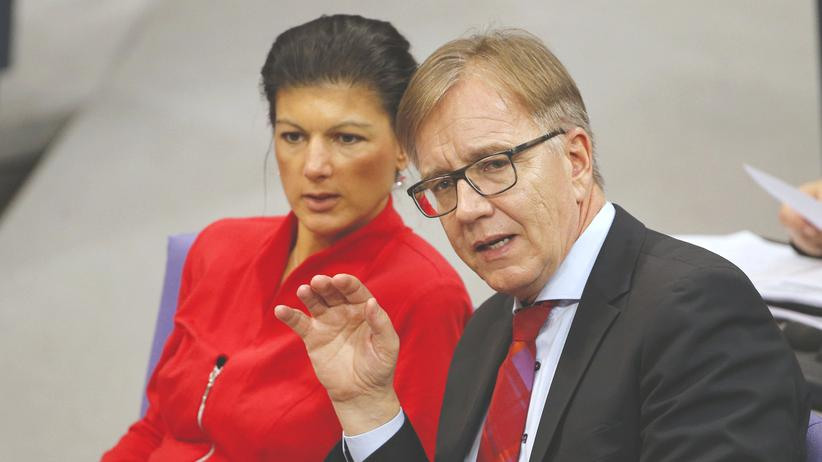 Die Linke: Linkspartei empört über Wagenknechts Selbstkrönung