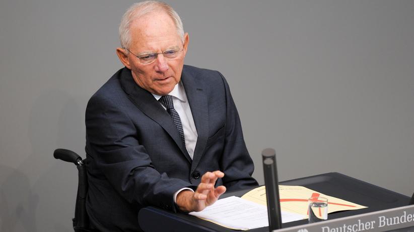 Haushalt: Kritik an Schäubles Steuersenkungsplänen