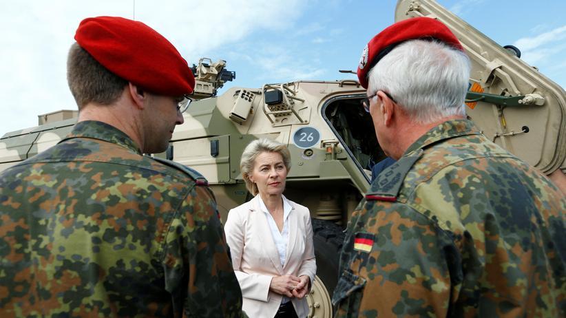 Nato-Einsatz: Bundeswehr soll Anfang 2017 in Litauen stationiert werden