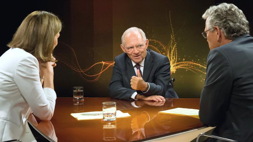 Schäuble ZDF Was nun, Herr Schäuble?