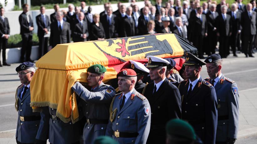 """Staatsakt für Walter Scheel: """"Scheel war ein Glücksfall für unser Land"""""""