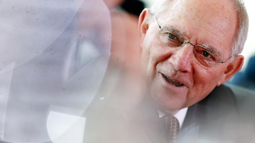 Bund-Länder-Finanzen: Bundesfinanzminister Wolfgang Schäuble