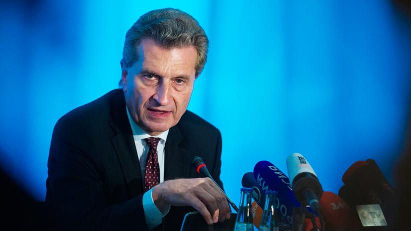 Europäisches Leistungsschutzrecht: Zeitungsverleger unterstützen Oettingers Pläne