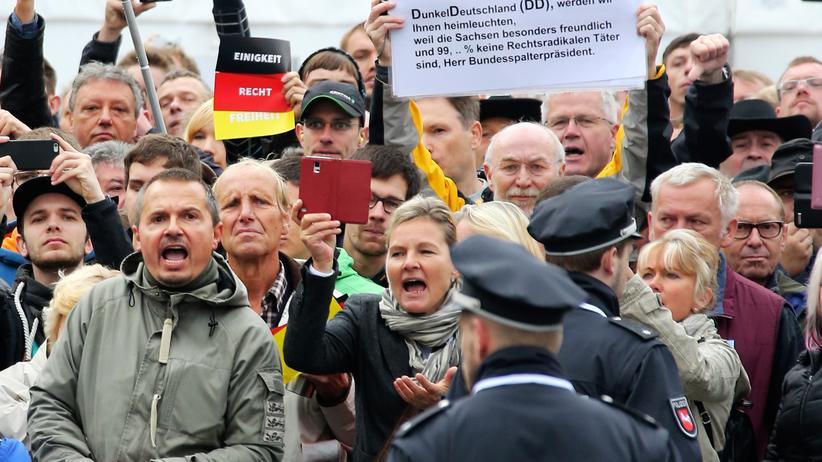Pegida Demonstrationen Dresden