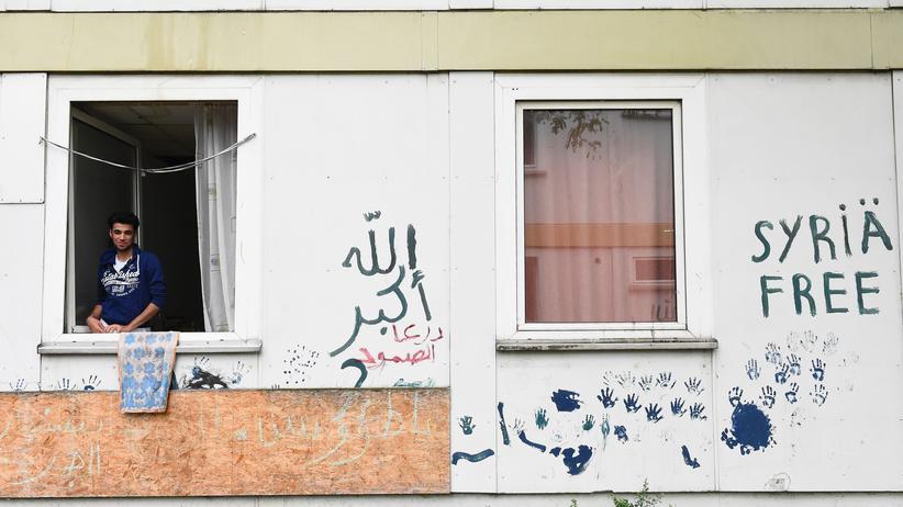Vereitelter Anschlag: Ein Flüchtlingsheim in Berlin-Spandau