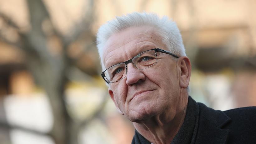 Winfried Kretschmann: Ein streitlustiger Schwabe: Baden-Württembergs grüner Ministerpräsident Winfried Kretschmann