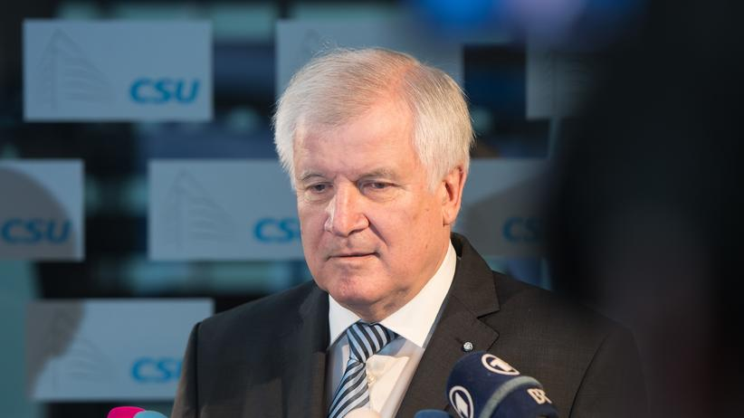 Horst Seehofer: CSU-Chef Horst Seehofer im Interview