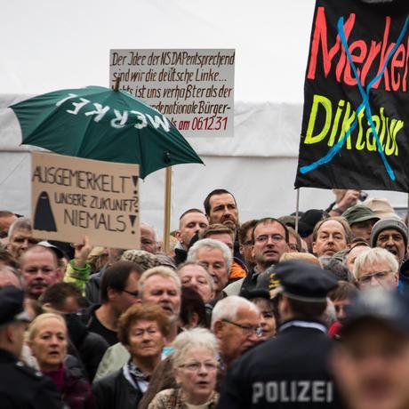 Pegida, AfD & Co: Die Sprache der Wutbürger