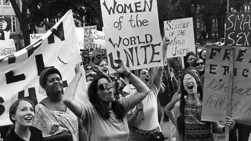 Feminismus: Eine Demonstration der Frauenbewegung der 1970er-Jahre in Washington