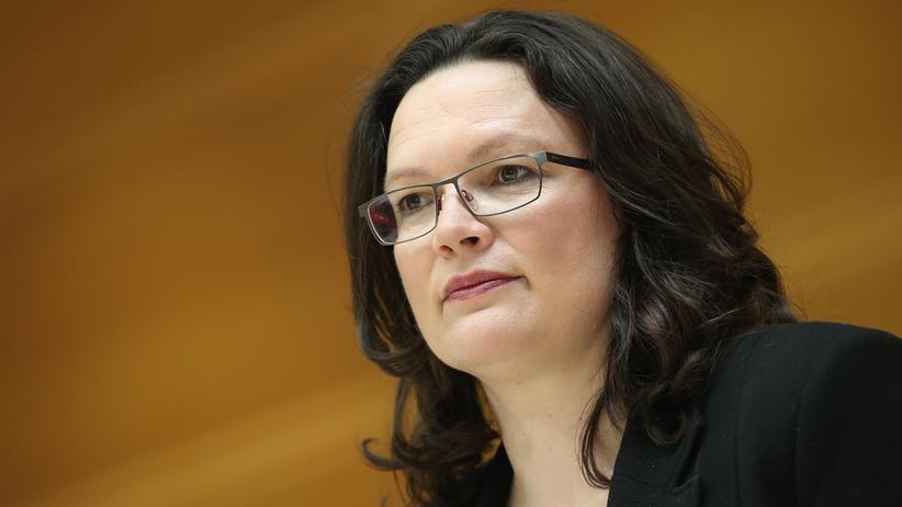 Soziale Ungleichheit: Arbeitsministerin Andrea Nahles (SPD) in Berlin (2015)