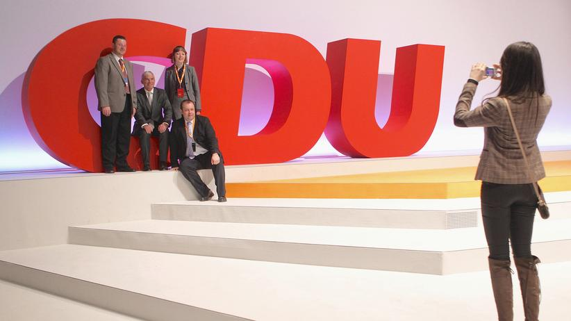 Bundestagswahl 2017: Delegierte bei einem Parteitag der CDU (Archivbild)