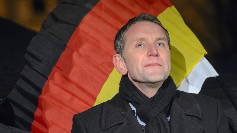 Björn Höcke: Björn Höcke bei einem Auftritt in Erfurt im Januar 2016