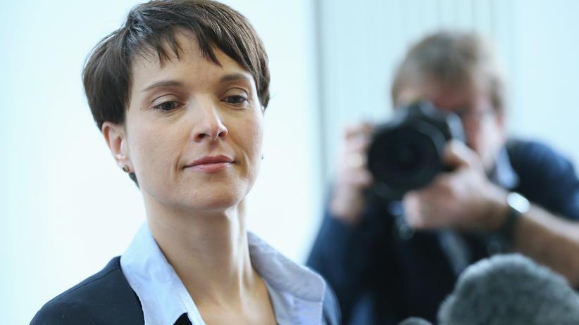 Alternative für Deutschland: AfD-Chefin Frauke Petry