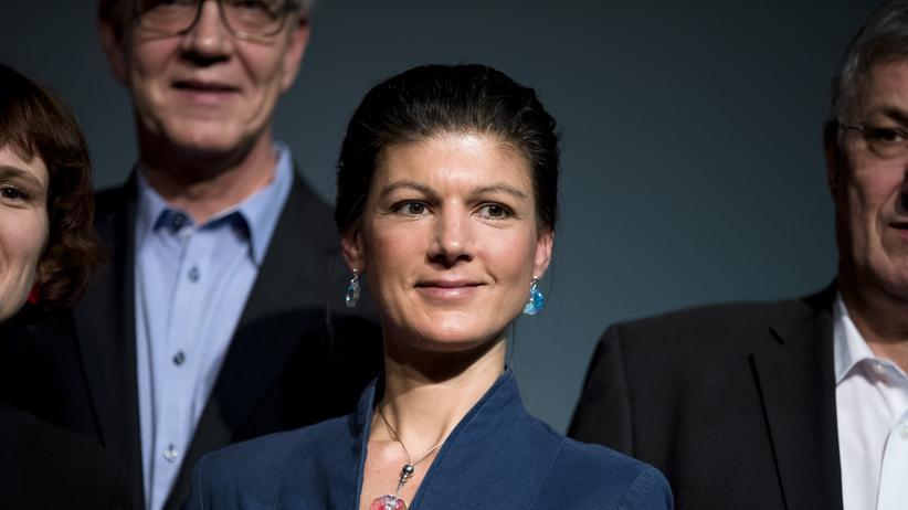 Bundestagswahl: Sahra Wagenknecht auf der Auftaktveranstaltung der Linken zur Bundestagswahl dieses Jahr