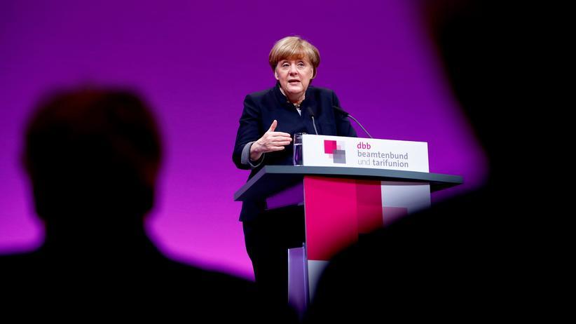 Angela Merkel: Merkel bei ihrer Rede in Köln