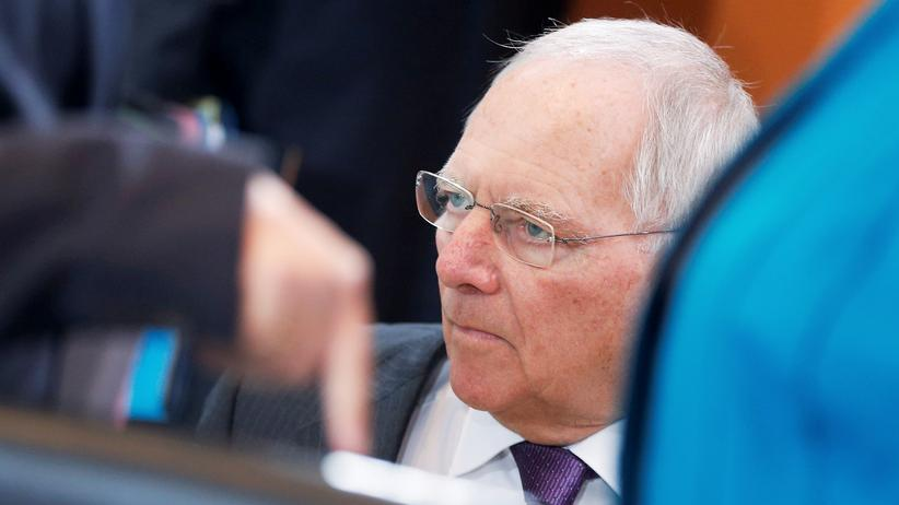 Schäuble Bundeshaushalt Überschuss