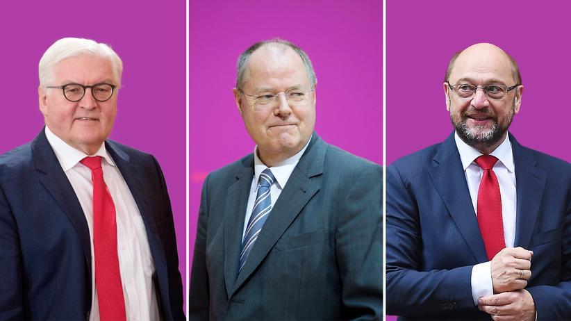 SPD-Kanzlerkandidaten: Der Fade, der Freche und der Neue