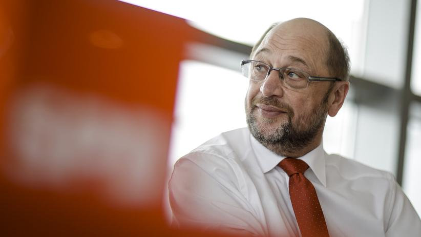 Kanzlerkandidat Martin Schulz (SPD)