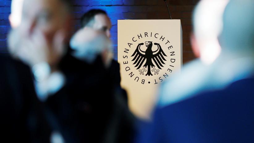 BND: Das Logo des Bundesnachrichtendienstes