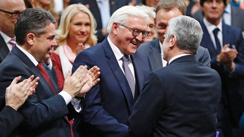 """Frank-Walter Steinmeier: """"Die Wahl bestand daraus, keine andere Wahl gehabt zu haben"""""""