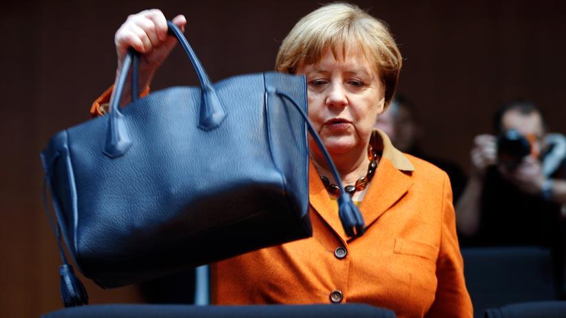 NSA-Untersuchungsausschuss: Bundeskanzlerin Angela Merkel beim NSA-Untersuchungsausschuss