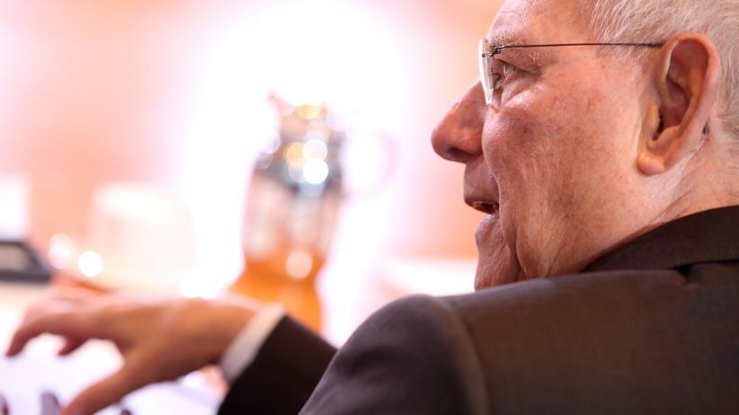 Bundestagswahl: CDU-Politiker Wolfgang Schäuble in Berlin
