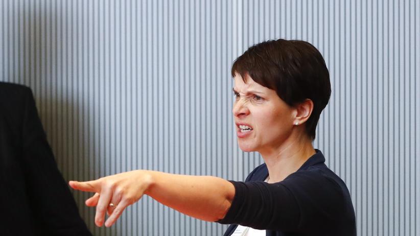 AfD Sachsen: AfD-Parteichefin Frauke Petry (Archivbild)