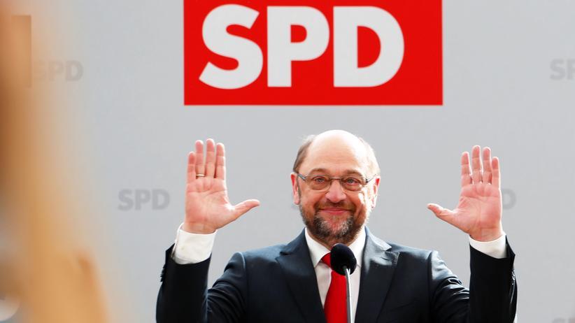 SPD: Martin Schulz beim politischen Aschermittwoch in Vilshofen