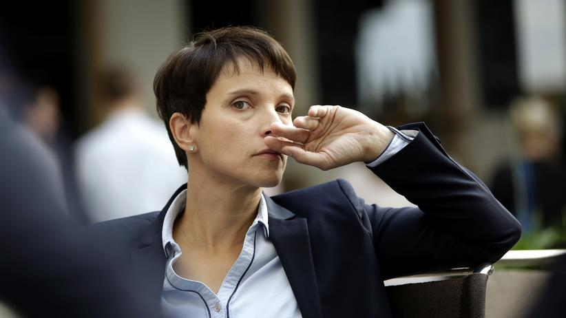 AfD: Frauke Petry, Bundesvorsitzende der AfD