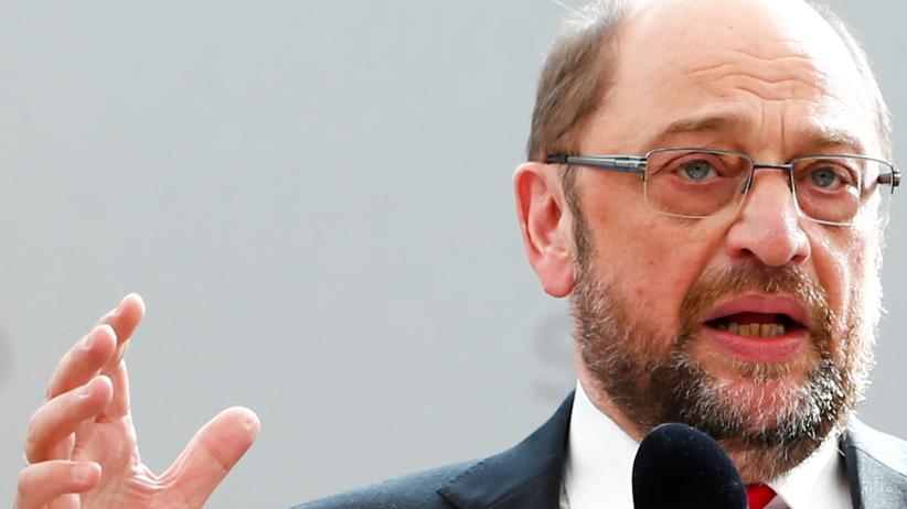 Bundestagswahl: SPD-Kanzlerkandidat Martin Schulz