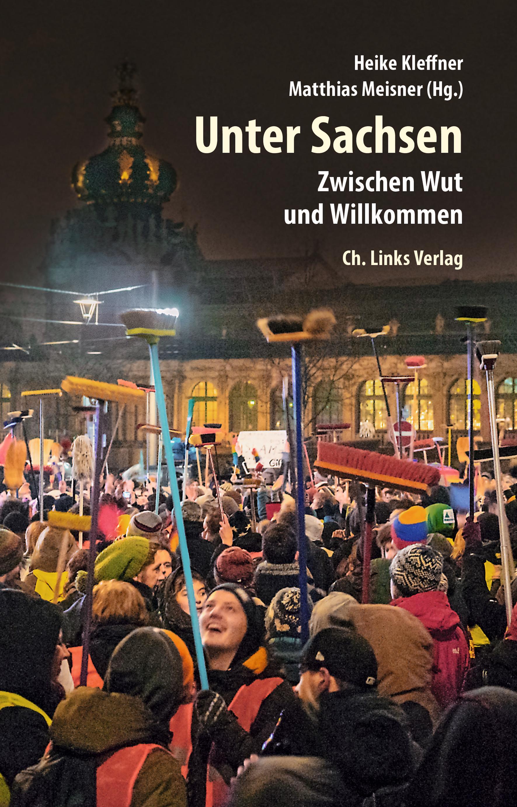 """Buchcover von """"Unter Sachsen"""""""