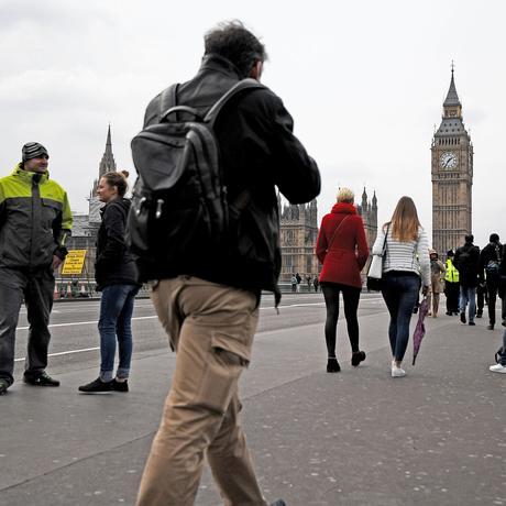 Westminster Bridge London offen