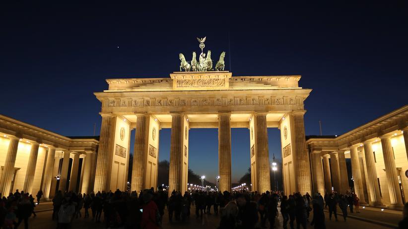 Anschlag in St. Petersburg: Das Brandenburger Tor