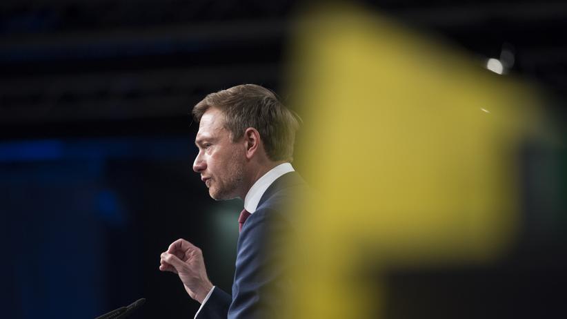 FDP-Parteitag: FDP-Bundesvorsitzender Christian Lindner