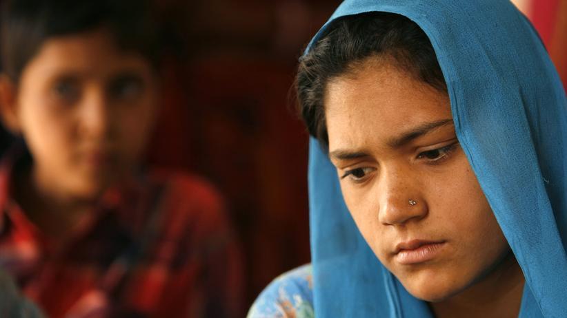 Kinderehe: Eine 14-jährige Inderin kurz vor ihrer Eheschließung