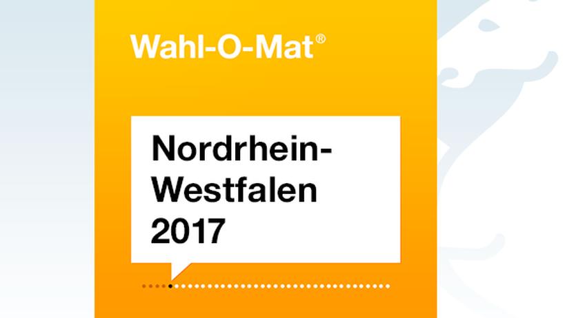 Für die Landtagswahl in NRW bietet die Bundeszentrale für politische Bildung wieder den Wahl-O-Mat an.