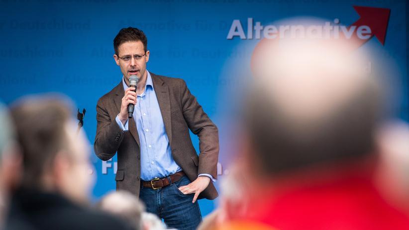 Landtagswahl: AfD-NRW-Spitzenkandidat Marcus Pretzell