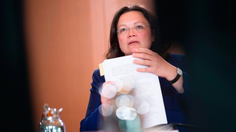 Vereinbarkeit von Beruf und Familie: Arbeitsministerin Andrea Nahles (SPD)