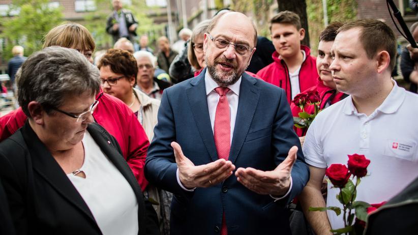 Bundestagswahlkampf: Martin Schulz will im Wahlkampf mit dem Thema Gerechtigkeit Wähler überzeugen.